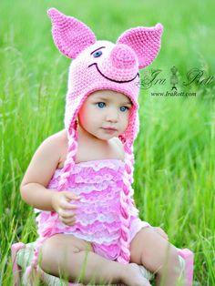 Piglet hat!