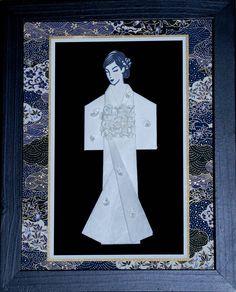 Framed Kimono ... written tutorial on the blog ...