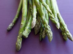 8 Asparagus recipes with nutritional information!