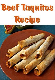 Easy Beef Taquitos Recipe