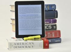 Some universities require students to use e-textbooks