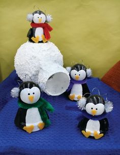 Project Detail | Crafts Direct.  Clay Pot Penguins