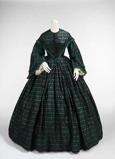 Walking Dress 1863 The Metropolitan Museum of Art