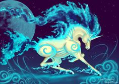 .::Unicorn:: my Shiny Rapidash by *RenePolumorfous on deviantART