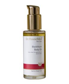 Dr. Hauschka Blackthorn Body Oil    Helps reduce the appearance of stretch marks