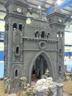 church in 1/6th scale: