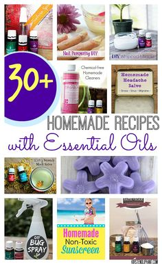 Replace toxic chemicals in your home with these great DIY recipes using essential oils.