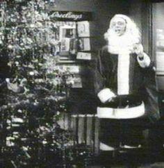 "Don Knotts (""Barney Fife"") plays Santa Claus."