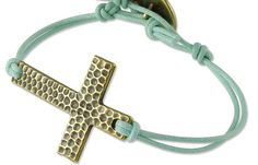 Cross bracelet and other #DIYReady jewelry ideas!