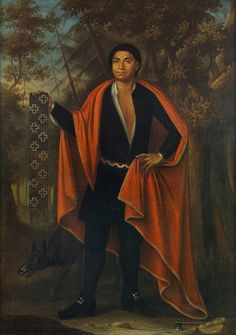 Hendrick   Painting of Teionhéhkhwen (Hendrick) Mohawk Wolf Clan Chief  During diplomatic mission to England in 1710.