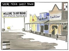 Ghost town social