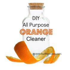 DIY Orange Cleaner!