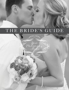 """""""The Bride's Guide"""" magazine template for wedding photographers by Elizabeth Langford"""