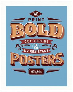 Typographic Illustrations 1.0 on the Behance Network