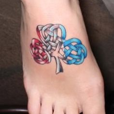 Colorful Celtic Tattoos