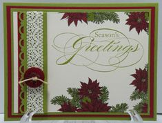Stampin Up Bells & Boughs  looks professional