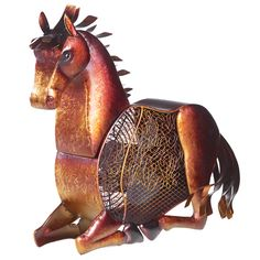 Cute fan for tack room! Also other animals Horse Figurine Fan 18x19 $99.00