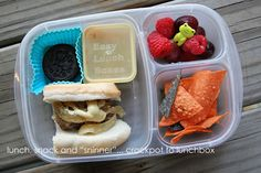 Crockpot to lunchbox ideas. Packed in @easylunchboxes