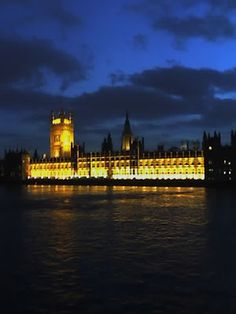 Palace of Westminster ~ London, England