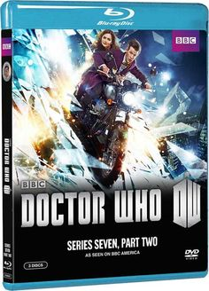 Doctor Who - Blu-rays, DVDs for 'The 7th Series, Part 2': Date, Cost, Packaging