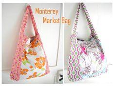 Free Pattern! : Monterey Market Bag