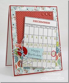 Journal It - Calendar Basics, PI All Occasion Sentiments, Insert It 3x4 Die-namics, Accent It - Flags and Tags Die-namics - Barbara Anders