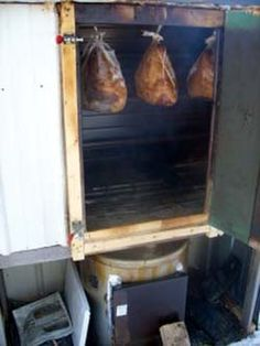 Build a homestead root cellar  and smoker