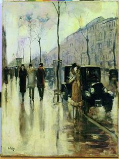 Uri Lesser, Winter Day in Berlin. Another one from my Israel Museum favourites