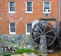 Old Water Wheel, St. Charles Missouri