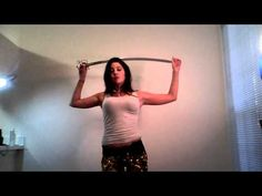 Belly Dancing Sword Practice