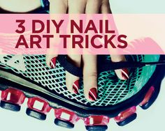 3 Creative New Nail Art Designs, Step By Step - It's time to ditch the kitsch: These au courant manicure designs rely on just one sophisticated element—and don't require a degree in fine arts.