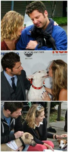 James Roday and Maggie Lawson Psych, True dog lovers