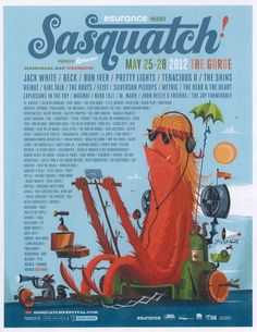 Sasquatch Music Festival 2012!