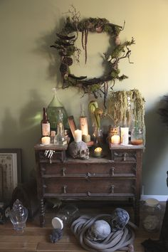 Voodoo on the Bayou - Swamp Themed Apothecary