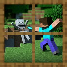 Minecraft Skeleton Attack Window Vinyl Wall by WilsonGraphics, $24.00