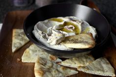 a dollop of featherweight hummus by smitten, via Flickr