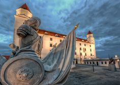 Ghosts of the Romans | Bratislava, Slovakia - #Sumfinity HDR Photography