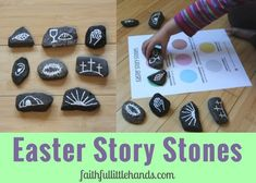 Easter Story Stones