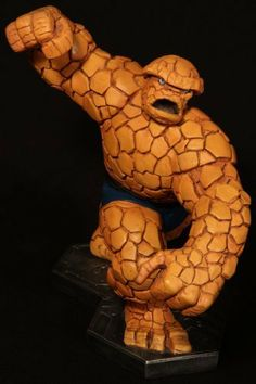 Fantastic Four The Thing Bowen Designs Large Statue by Bowen Designs. $349.99. 11 inches tall (1/8 scale) limited to 4000, sculpted by Randy Bowen.