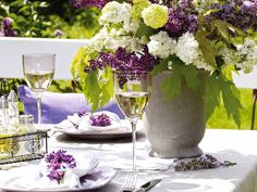 Lilacs and Wine!