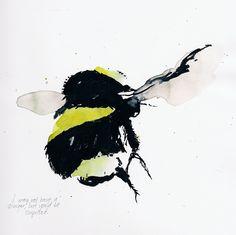 tattoo idea, bumbl bee, color tattoos, artsi stuff, bumblebe, illustration art, bumble bees, honey bees, incredible tattoos