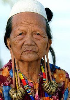 * Kayan woman