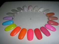 Spring - Summer colours of shellac