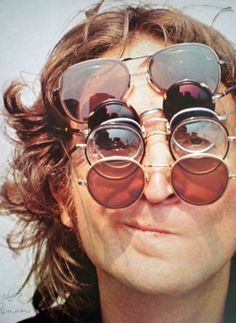 John Lennon in glasses