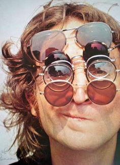 John Lennon in glasses