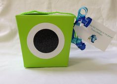 Monsters University Favor Box