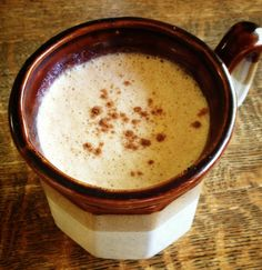 Make your own healthy pumpkin spice latte