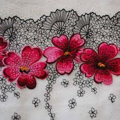Japanese embroidered lace - oriental direct ebay