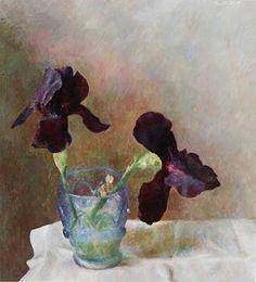 Black Iris by Henriette Wyeth-Hurd
