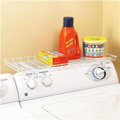 Laundry Supply Shelf